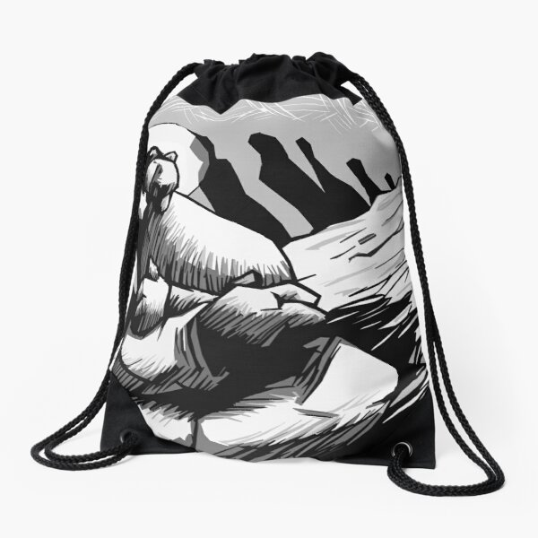 Isolation Drawstring Bag