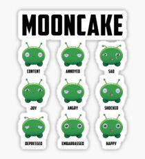 Mooncake Emotions Sticker