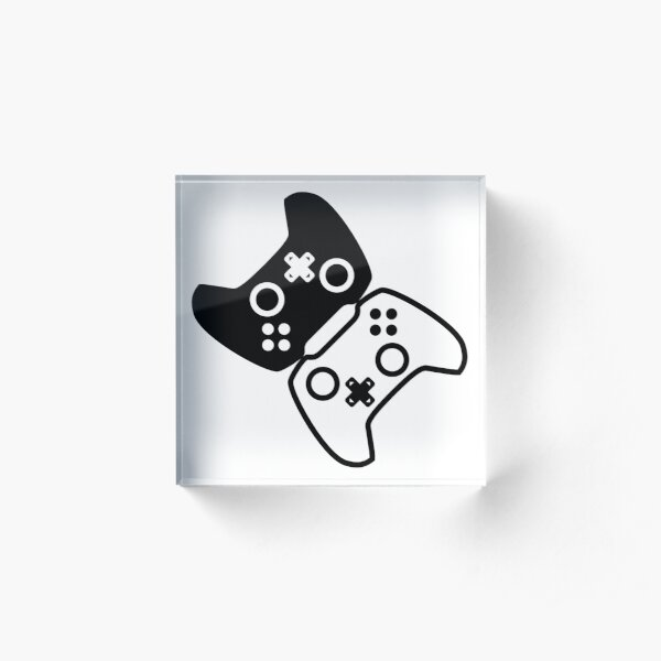 Co-op Controllers Acrylic Block