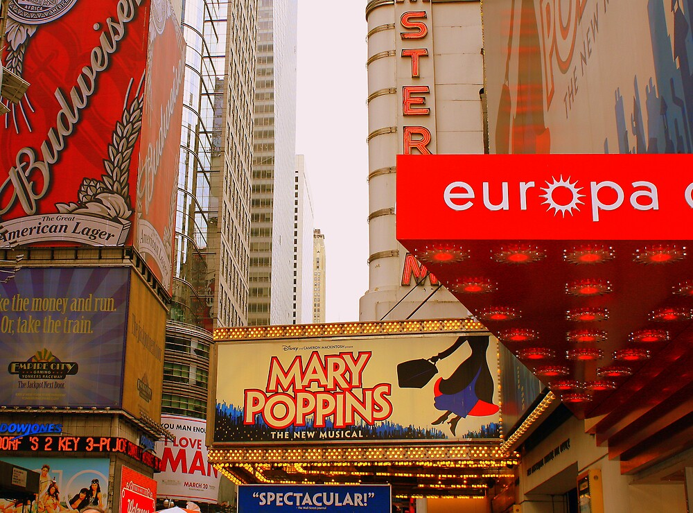 The Lights are Bright on Broadway (resized) by deegarra