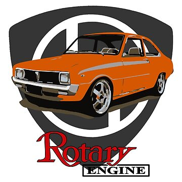 Mazda R100 Rotary Orange by harrisonformula