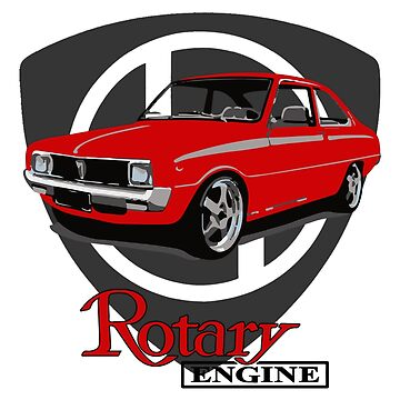 Mazda R100 Rotary Red by harrisonformula