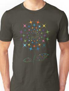 Shining abstract dandelion Unisex T-Shirt