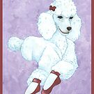 Pavlova Poodle by redqueenself