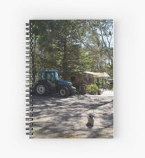 Magpie Springs - Adelaide Hills South Australia Spiral Notebook