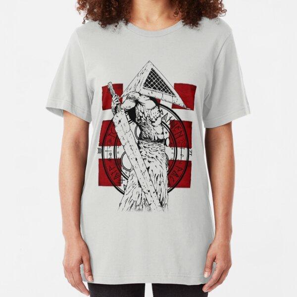 Pyramid Head Tribute Slim Fit T-Shirt
