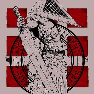 Pyramid Head Tribute by Fuzzyketchup