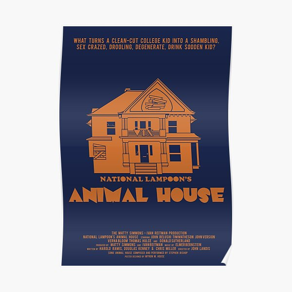 Animal House Movie Posters | Redbubble
