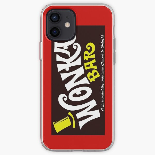Willy Wonka Chocolate Bar iPhone Soft Case