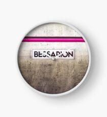Bessarion - Toronto Subway Station Sign Clock