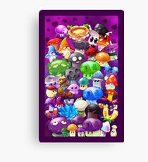 plants vs zombies canvas prints redbubble
