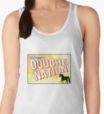 Welcome To Douche Nation Women's Tank Top