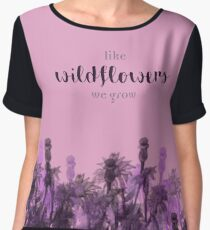 Like Wildflowers Chiffon Top