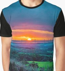 Dreamy Sunset Graphic T-Shirt