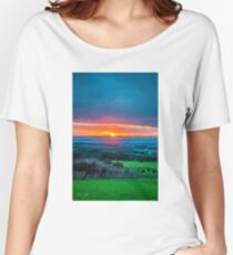 Dreamy Sunset Relaxed Fit T-Shirt