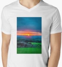 Dreamy Sunset V-Neck T-Shirt