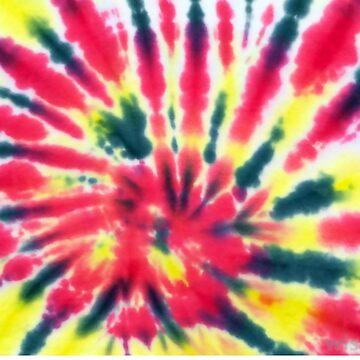 tie dye hippie by closeddoor