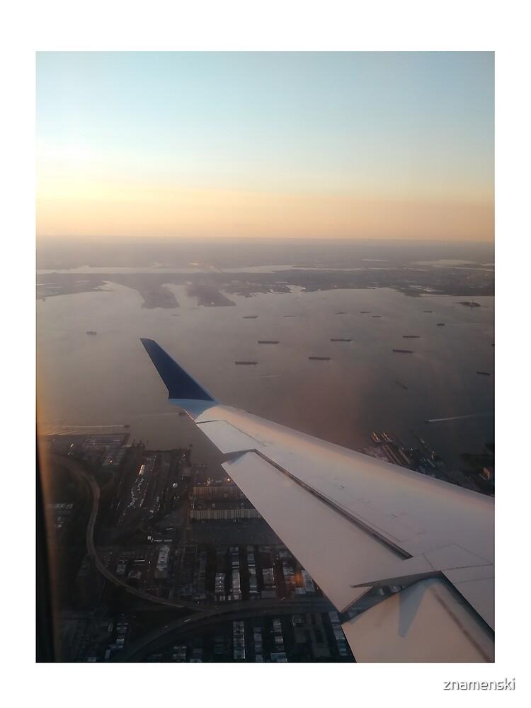 Flight, #flight, view, #view, New York, #NewYork, New York City, #NewYorkCity by znamenski
