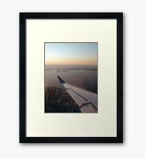 Flight, #flight, view, #view, New York, #NewYork, New York City, #NewYorkCity Framed Print