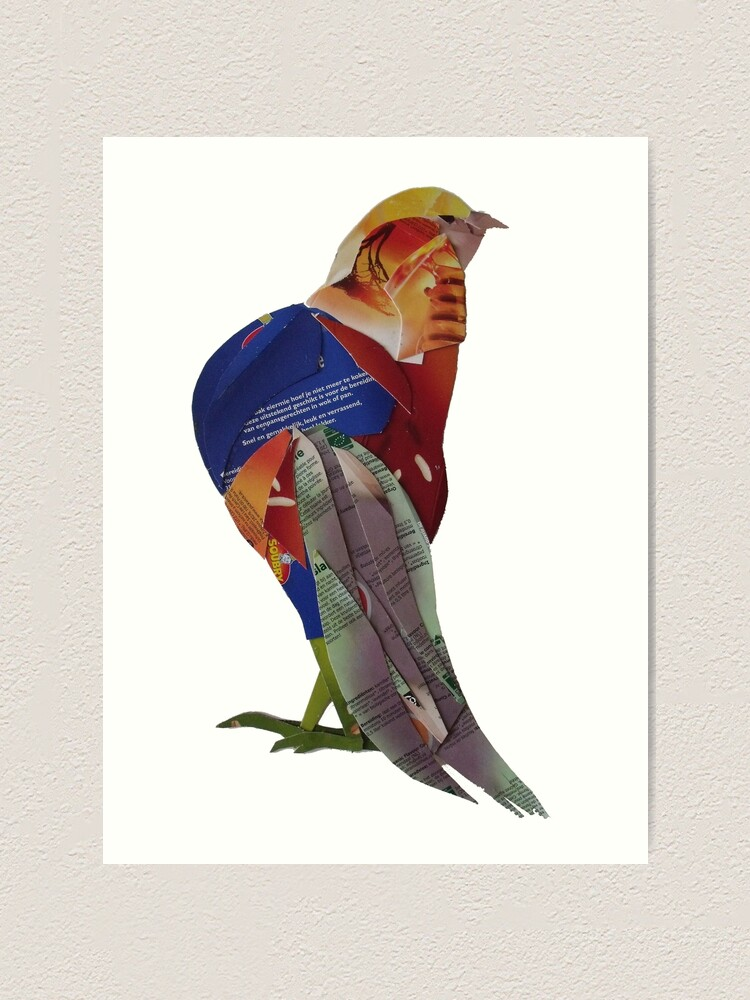 Alternate view of Striding Pheasant Art Print