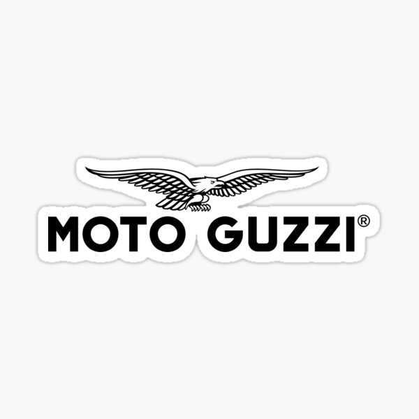 águila de moto guzzi Pegatina
