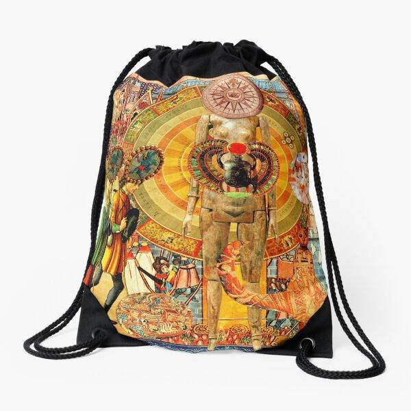 Scarab. Drawstring Bag