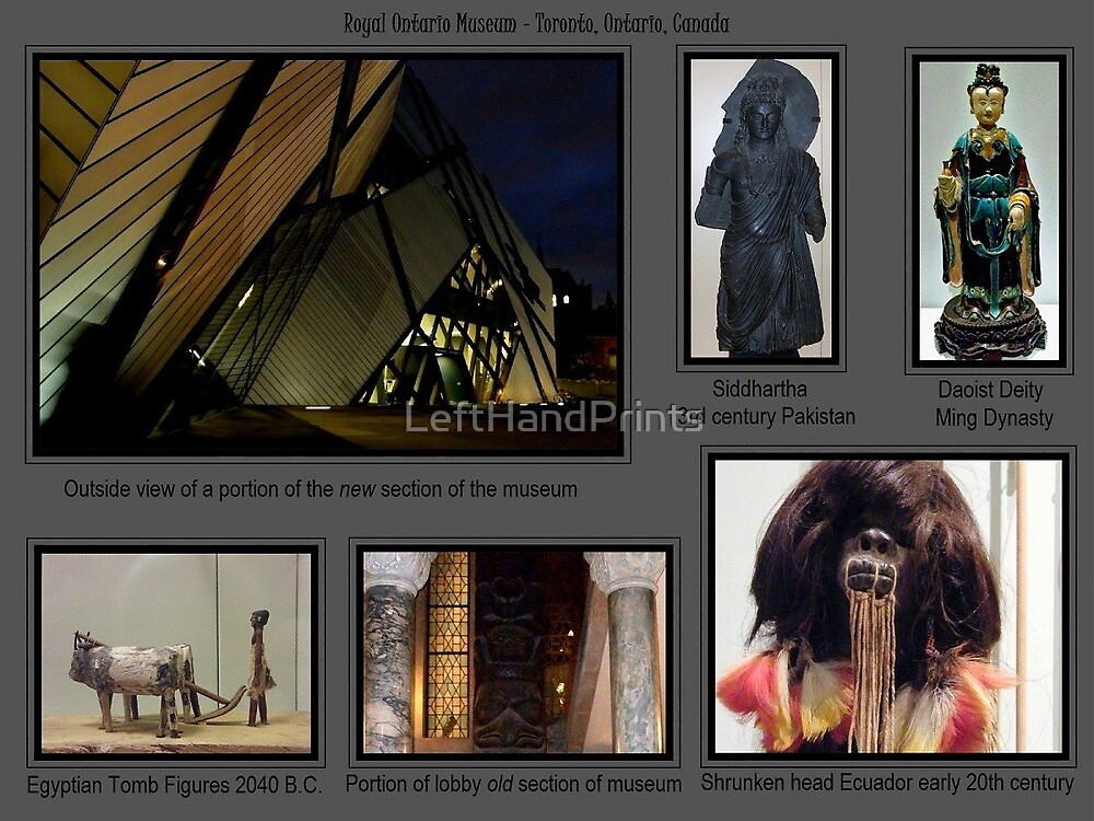 A trip to the ROM by LeftHandPrints