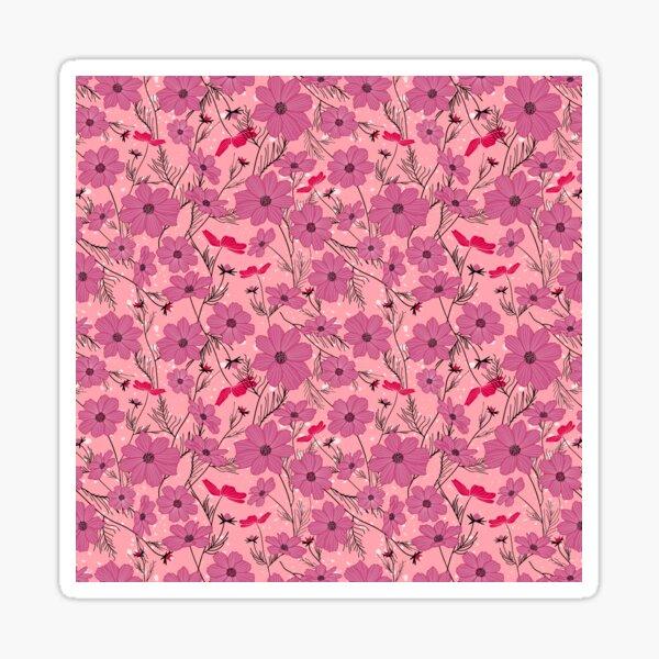 Cosmea rose Sticker