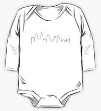 Philly Skyline Langärmeliger Einteiler