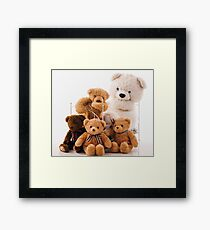Teddy Bears Framed Print
