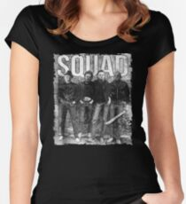 Squad jason michael horror squad Tshirt halloween Women's Fitted Scoop T-Shirt