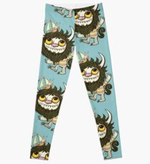 An Ode To Wild Things Leggings