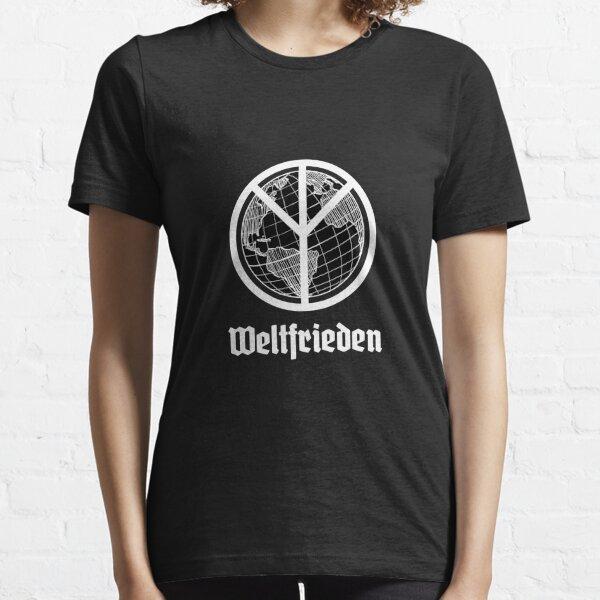 Weltfrieden in Deutschland MDE Weltfrieden Essential T-Shirt
