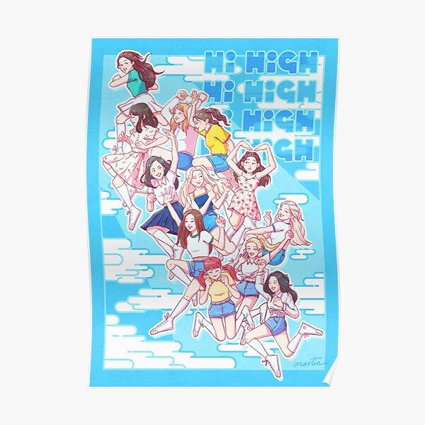 Hi High Poster