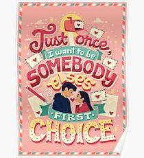 First Choice Poster