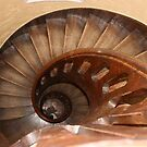spiral staircase by joybliss