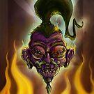 Rebel Shrunken Head by trickmonkey