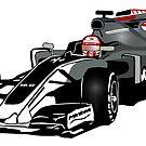 Formula 1 - Magnussen - Haas F1 Team by Port-Stevens