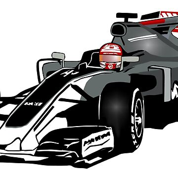 Formula 1 - Magnussen - Haas F1 Team by Port-Stevens