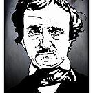 Edgar Allan Poe by AshLamont