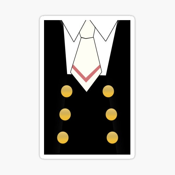 Tomoeda School Uniform Phone Case Sticker