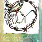 Joy to the world by Jenny Wood