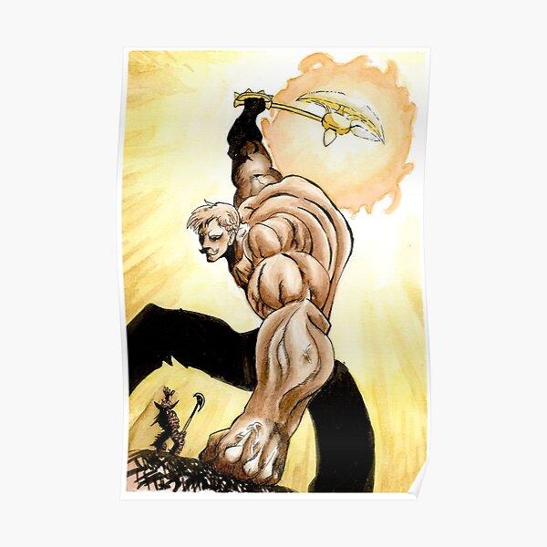 Escanor - El pecado del orgullo de los leones - Nanatsu no Taizai Póster