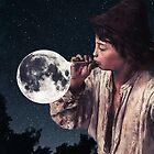 Blowing moon bubbles ... by Underdott