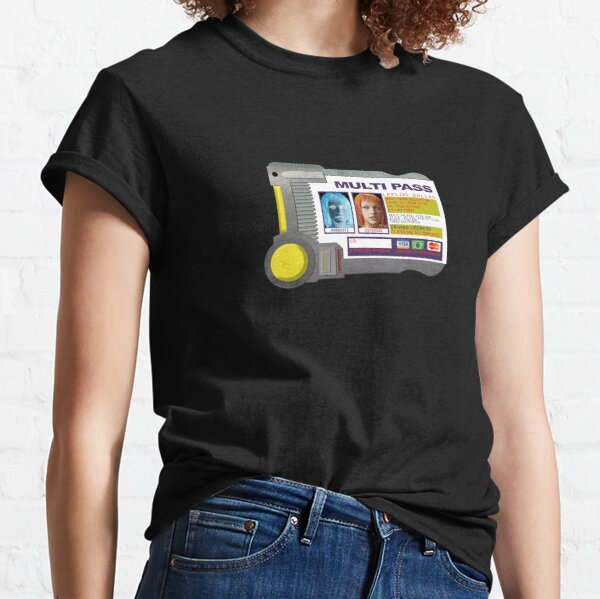 Multipass - Inspired by The Fifth Element Classic T-Shirt