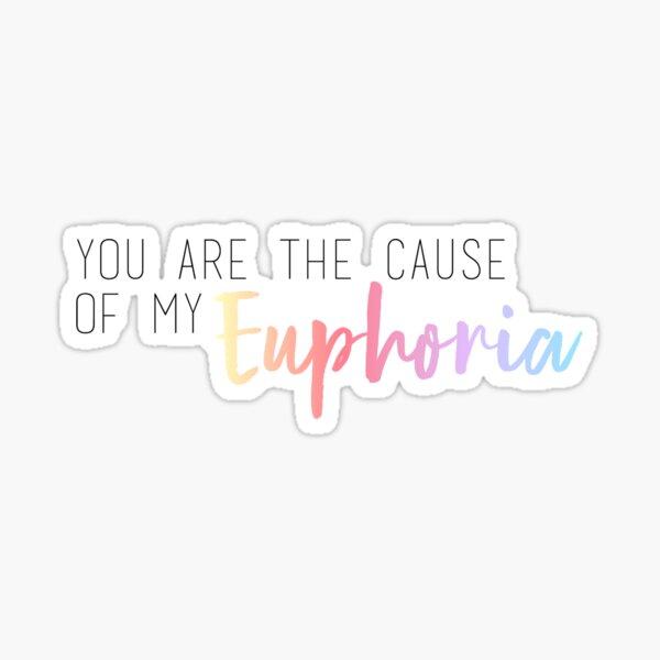 BTS Euphorie Sticker