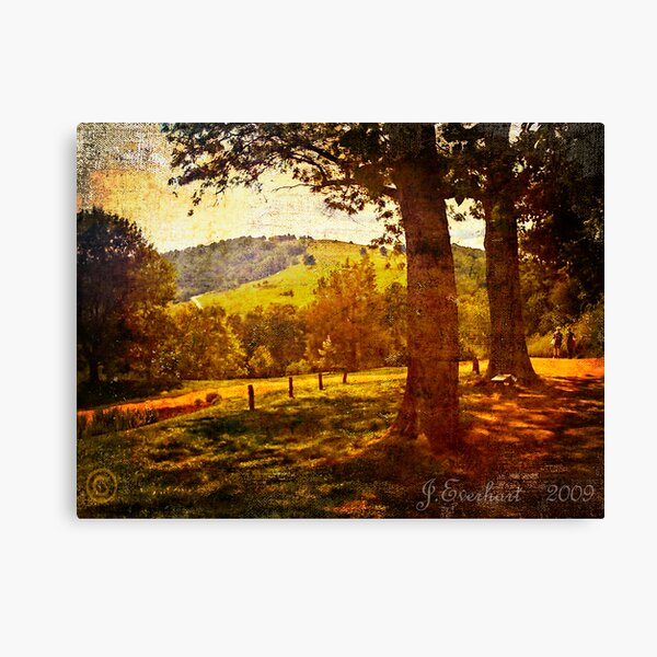 A Walk Around the Monticello Canvas Print