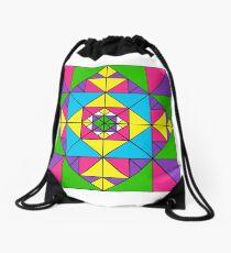 ADVANCED TRIANGLE ART Drawstring Bag