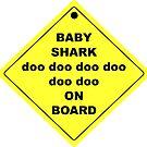Baby Shark doo doo doo doo doo doo On Board! by Brother Adam
