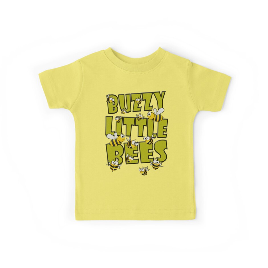 BUZZY LITTLE BEES by PapaSquatch
